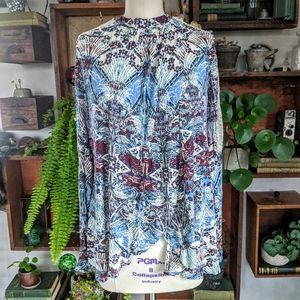 Free people split front tunic